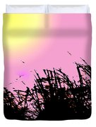 Saw Grass Duvet Cover