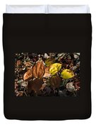 Sawbrier Or Greenbriar In The Fall Duvet Cover
