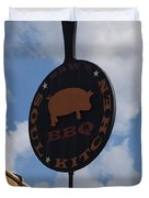 Saws Bbq And Soul Food Duvet Cover