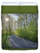 Sawtooth Road Duvet Cover