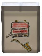 Saxophone Duvet Cover