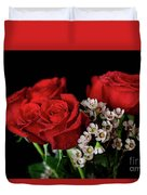 Say It With Flowers Duvet Cover by Tracy Hall