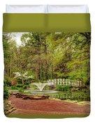 Sayen Gardens Bridge Series Duvet Cover