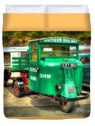 Scammell Mechanical Horse Duvet Cover