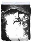 Scandinavian Mythology The Ancient God Odin Duvet Cover