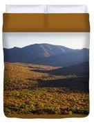 Scar Ridge Autumn Duvet Cover
