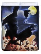 Scarecrows In The Cornfield 2 Duvet Cover