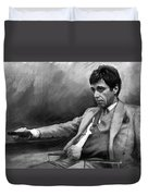 Scarface 2 Duvet Cover by Ylli Haruni