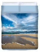 Scarista Beach Isle Of Harris Duvet Cover