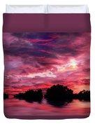 Scarlet Skies Duvet Cover