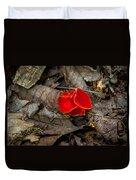 Scarlet Underfoot Duvet Cover