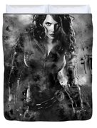 Scarlett Johansson Black Widow Duvet Cover