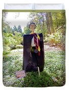 Scarry Potter Scarecrow At Cheekwood Botanical Gardens Duvet Cover
