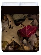 Scary Leaves Duvet Cover