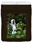 Scary Scarecrow Duvet Cover