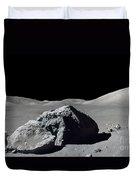 Scene From Apollo 17 Extravehicular Duvet Cover
