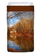 Scene In The Forest - Allaire State Park Duvet Cover