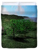 Scenery Duvet Cover by James Barnes