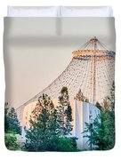 Scenes Around Spokane Washington Downtown Duvet Cover