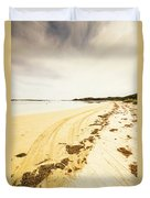 Scenic Coastal Calm Duvet Cover