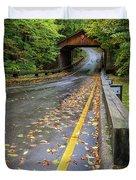 Scenic Drive 1 Duvet Cover
