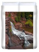 Scenic Gooseberry Falls Duvet Cover