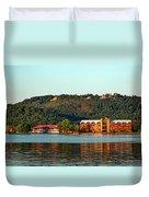 Scenic Lake Guntersville Duvet Cover