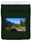 Scenic Mountain View Duvet Cover