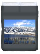 Scenic Wood Lake Duvet Cover