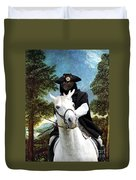 Schipperke Art Canvas Print - The Danube Valley Near Regensburg Duvet Cover