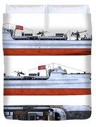 Schnellboot S100 Duvet Cover