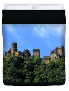 Schoenburg Castle Oberwesel Germany Duvet Cover