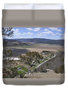 Schoharie Valley Duvet Cover