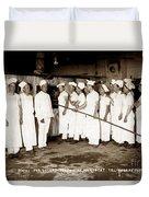 School For Bakers Presidio Of Monterey October 1915 Duvet Cover