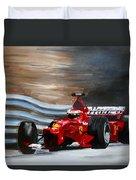 Schumacher Monaco Duvet Cover