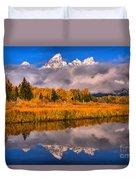 Schwabacher Fall Brilliance Duvet Cover