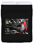 Schwinn Black Phantom Duvet Cover