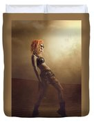 Sci-fi Beauty 2 Duvet Cover