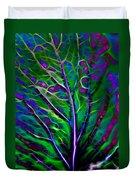 Scintillating Leaf Duvet Cover