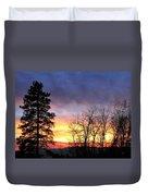Scintillating Sunset Duvet Cover
