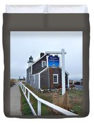 Scituate Lighthouse 1 Duvet Cover
