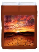 Scorched Earth Duvet Cover