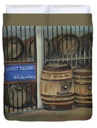 Scotch Whiskey - Barrels - Macallan Duvet Cover