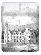 Scotland: Balmoral Castle Duvet Cover