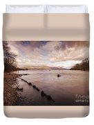 Scotland Landscape Duvet Cover