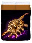 Scorpion Shell Duvet Cover
