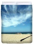 Scott Creek Beach California Usa Duvet Cover