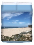 Scott Creek Beach Hwy 1 Duvet Cover