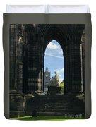 Scott Monument Duvet Cover
