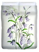 Scottish Blue Bells Duvet Cover